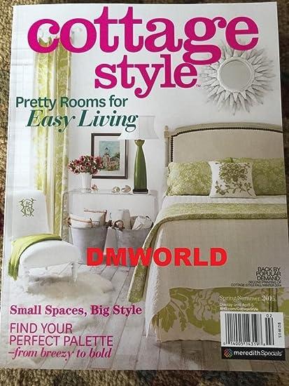 Tremendous Amazon Com Cottage Style Magazine Spring Summer 2016 Home Interior And Landscaping Ponolsignezvosmurscom