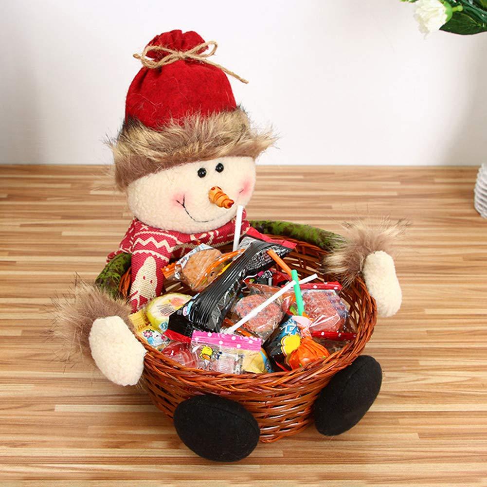 beiguoxia Weihnachts-Korb, Süßigkeiten-Korb, für Kinder ...
