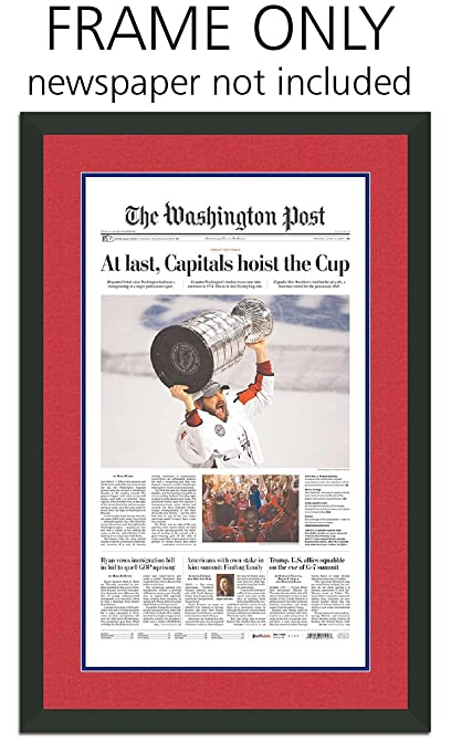 Amazon.com - Washington Post Newspaper Frame - with Washington ...