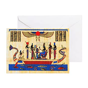 Cafepress ancient egyptian papyrus greeting card note card cafepress ancient egyptian papyrus greeting card note card birthday card blank m4hsunfo