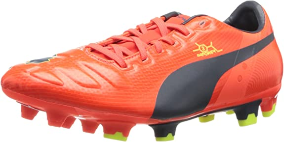 PUMA Men's evoPOWER 2 Firm Ground Soccer Shoe