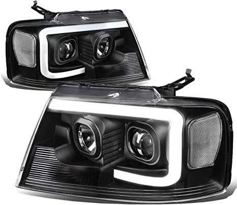2004-2008 Ford F-150 F150 Pickup Headlights Headlamps Left+Right Pair 2005 2006