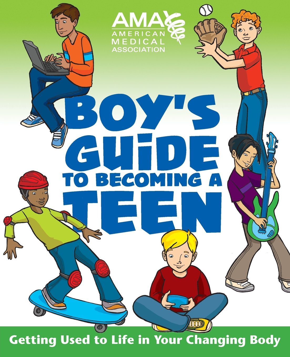 Amazon.com: American Medical Association Boy's Guide to Becoming a Teen  (9780787983437): Amy B. American Medical Association: Books