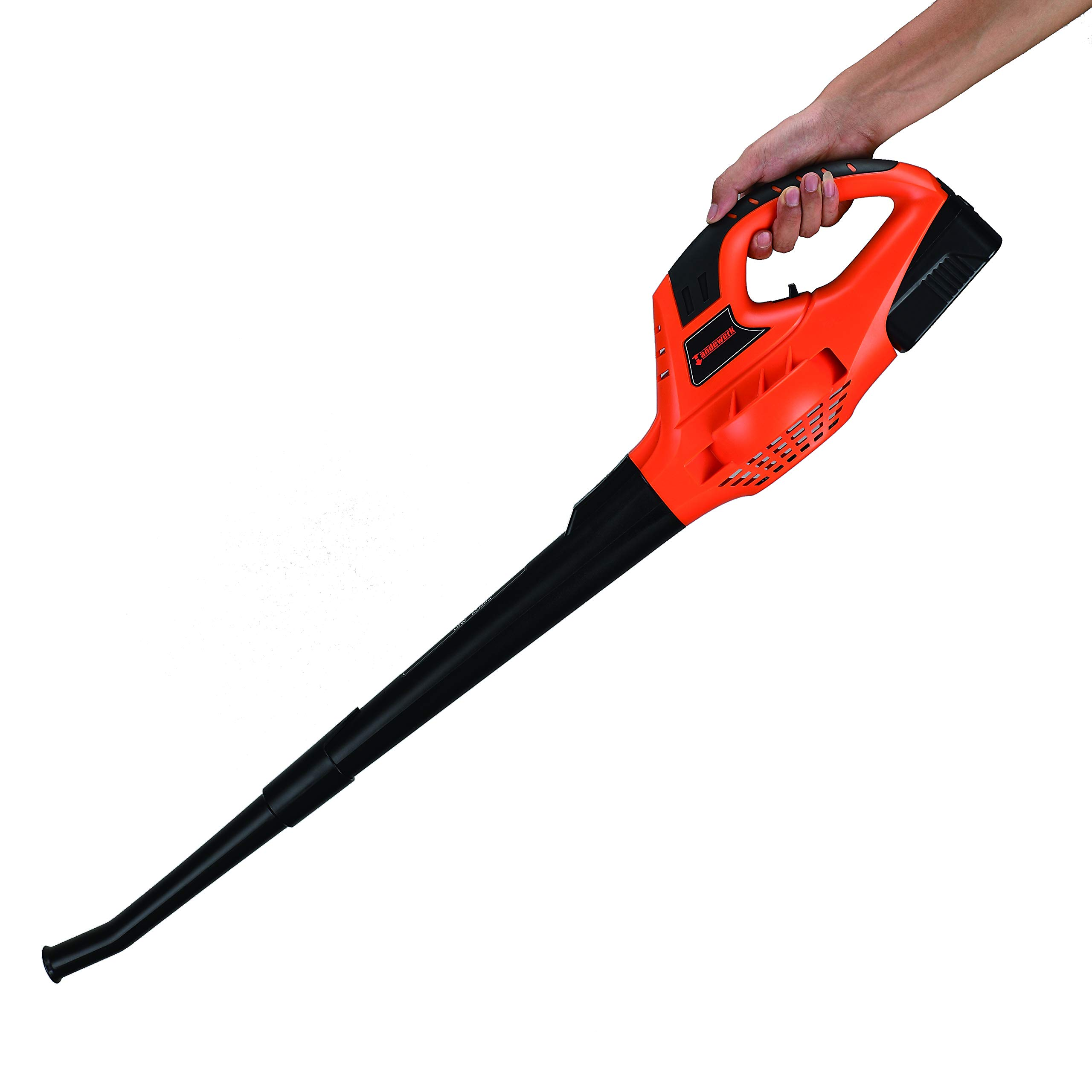 Garden Bean 130 MPH High Performance Variable Speed Cordless Handheld Leaf Blower with Battery & Charger by Garden Bean (Image #5)