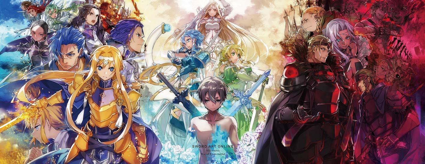 Kawahara Reki - Sword Art Online Alicization War Of Underworld 1 2 ...