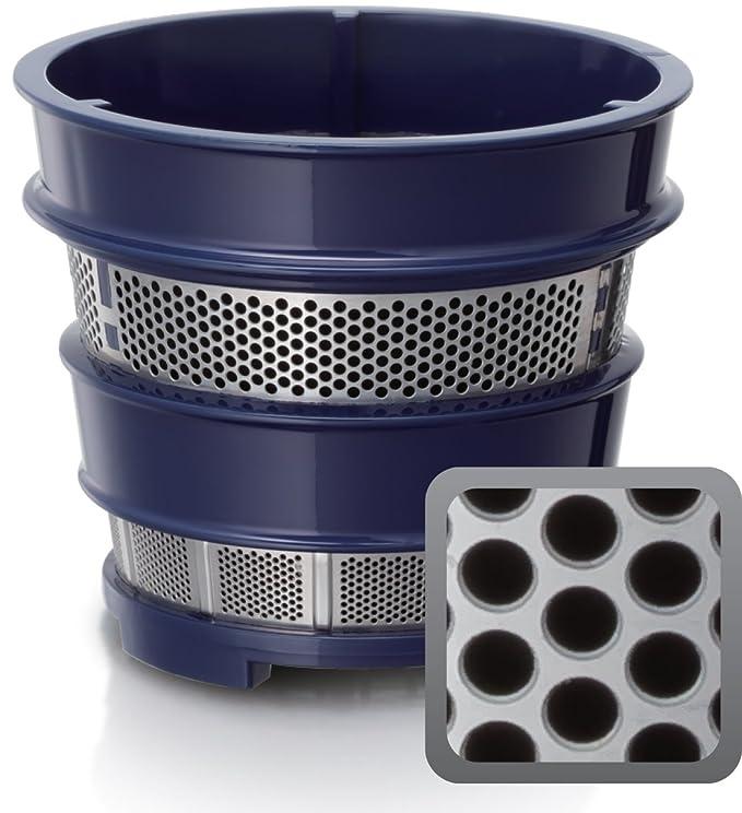 Panasonic MJ-L600 Exprimidor de Velocidad Lenta para Zumos y Smoothi 150 W, 2, Gris Antracita: Amazon.es: Hogar