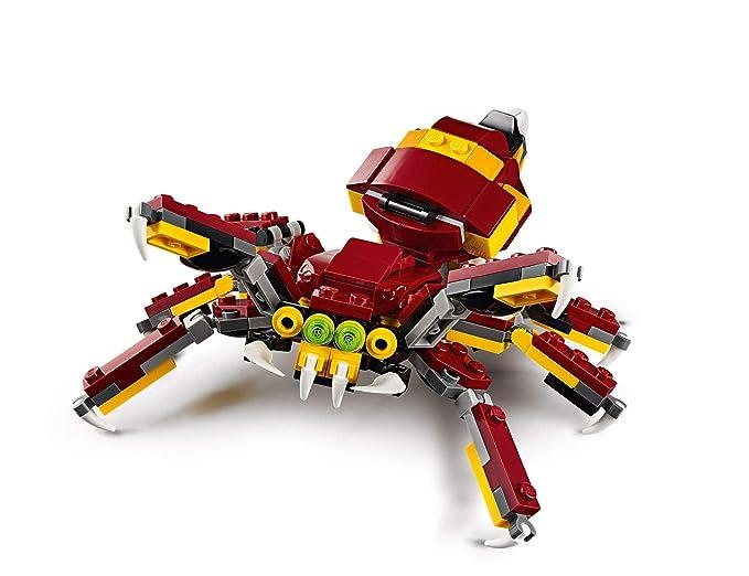 LEGO Creator - Criaturas Míticas, Juguete de Construcción 3 en 1 ...