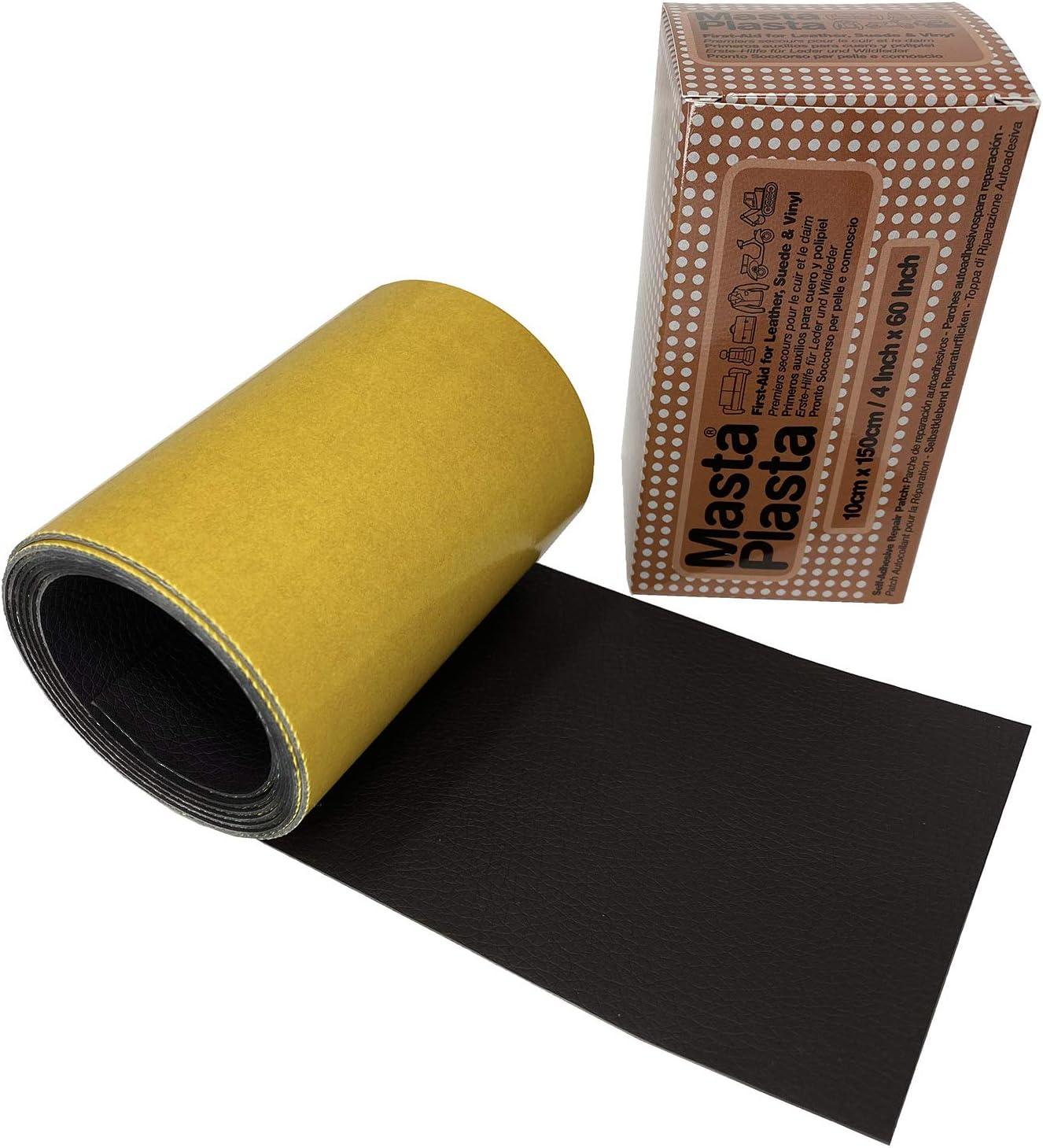 MastaPlasta - Reparador de Piel Autoadhesivo - En un Rollo - Color A Elegir. 150 x 10 cm. Arregla Las rasgaduras: Amazon.es: Hogar
