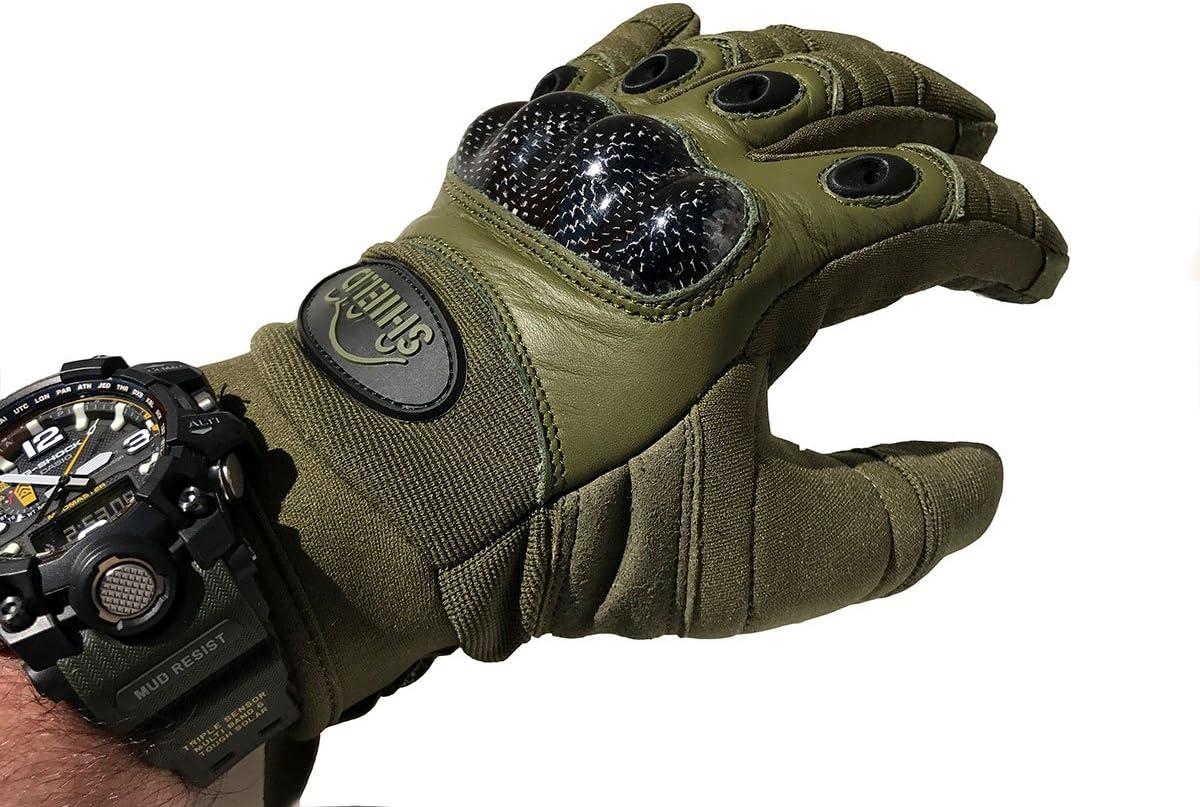 "SHIELD Tactical-Carbon /""Touch/"" Einsatzhandschuh"