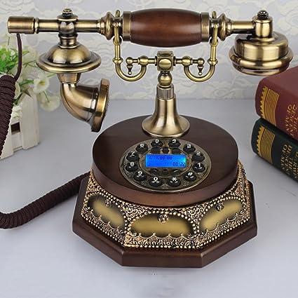 Amazon.com: Telephone Antique telephone European retro old-fashioned on