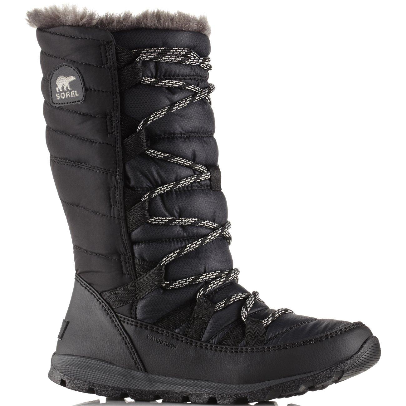 Sorel Women's Whitney Lace Waterproof Winter Boot Black 10 M US by SOREL