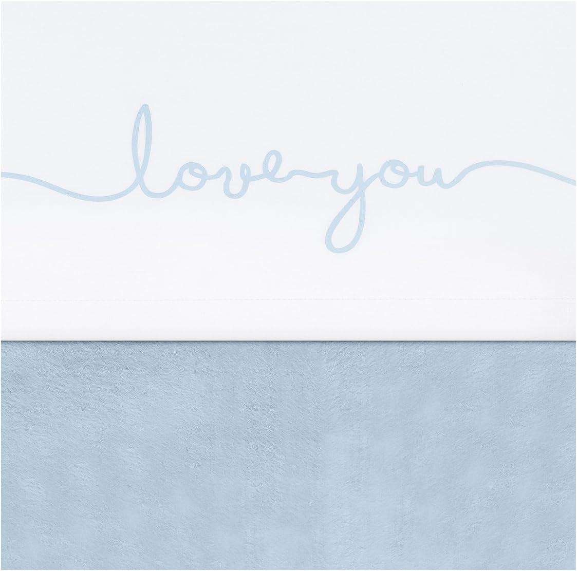 Jollein 75x100cm Love You Blue