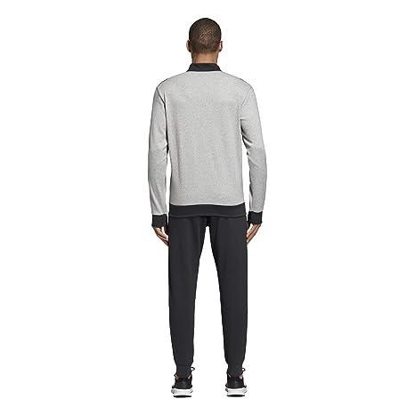 adidas Tracksuit Cotton Relax, Hombre: Amazon.es: Deportes y aire ...