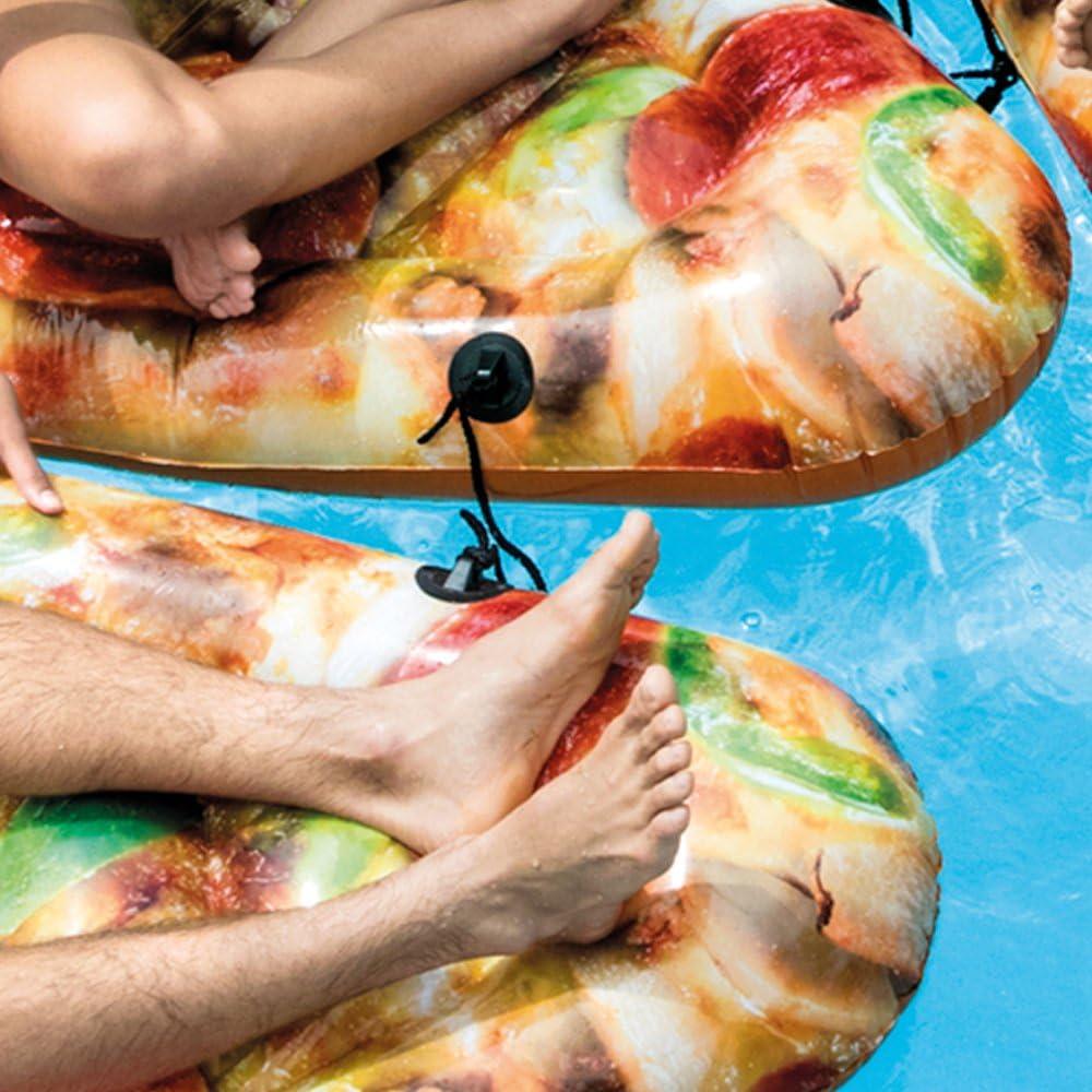 Intex 58752EU - Colchoneta hinchable Pizza 145 x 175 cms: Amazon ...