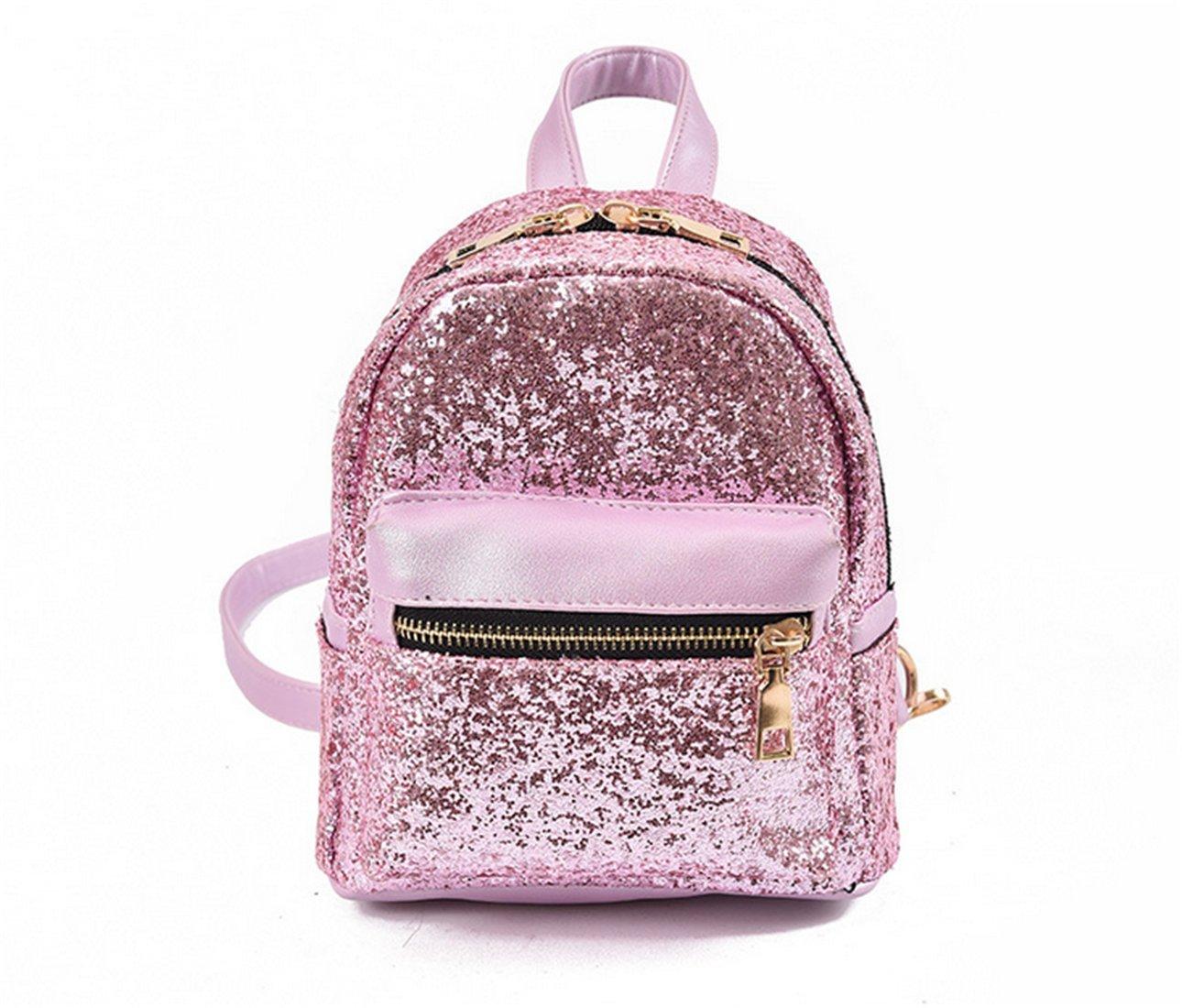 Nodykka Backpack Purse Shoulder Travel Bag Mini Sequin Crossbody Fashion Handbags For Women Girls