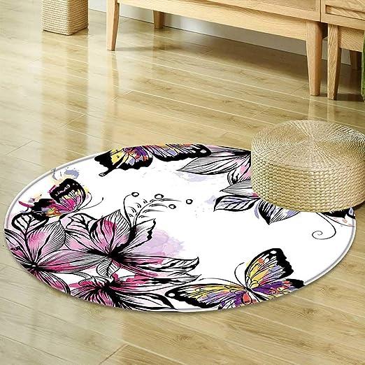 Alfombra para Comedor o Dormitorio, diseño de Silueta de una niña ...