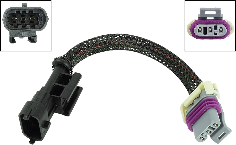 """LS1 LS6 LS2 to LS3 LS7 MAP Sensor Extension Cable Adapter Harness 6/"""""""