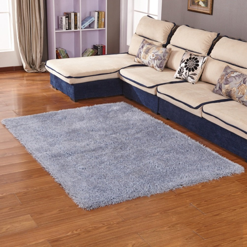 WAN SAN QIAN- Faux Rug Soft Fluffy Rug Shaggy Rugs For Bedrooms Living Room Kids Rooms Decor Rectangle Rug Rug ( Color : B , Size : 120x170cm )