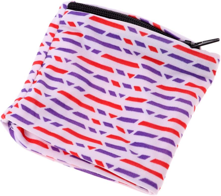 Baoblade Multifunctional Stretchy Wrist Wallet with Zipper for Running//Walking//Basketball//Tennis//Hiking//Yoga and Other Sports