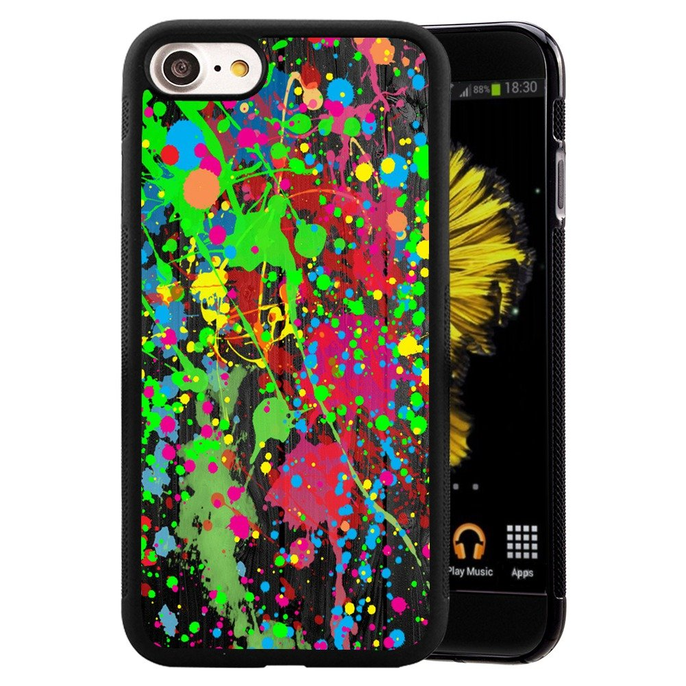 Amazon com graffiti case for iphone 7 iphone 8 customized design by mervelle tpu and pc black shock proof protective case anti slippery cell phones