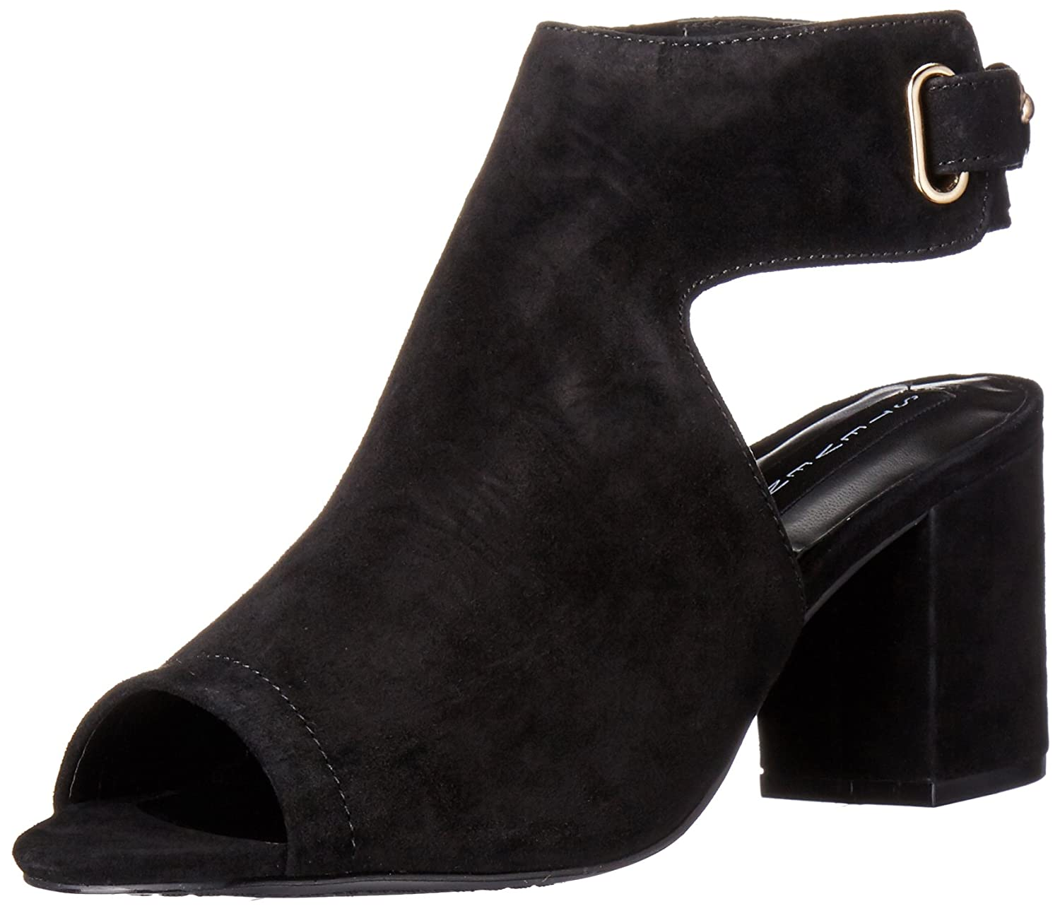 b13161507d2 STEVEN by Steve Madden Women s Venuz Dress Sandal Black Leather 6 B(M) US   Buy Online at Low Prices in India - Amazon.in