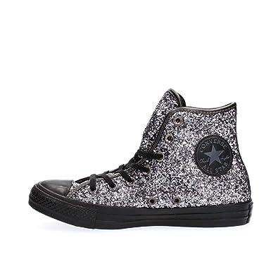 meilleur authentique chaussures classiques dernier style Converse All Star Hi Tex Glitter, Baskets Montantes Femme
