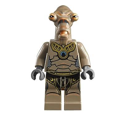 Lego Star Wars Clone Wars Geonosian Pilot Minifigure: Toys & Games