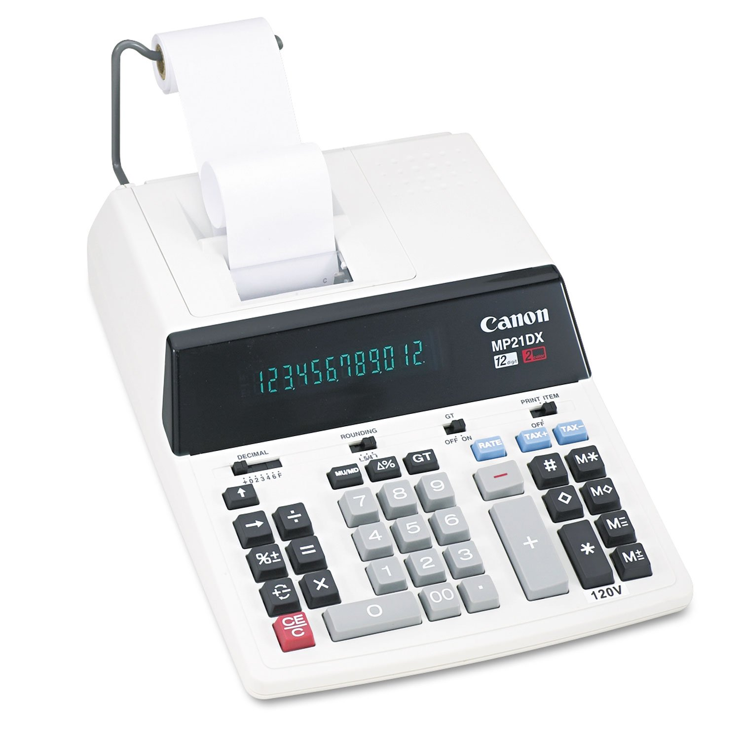 Canon CNMMP21DX MP21DX Two-Color Printing Calculator by Canon