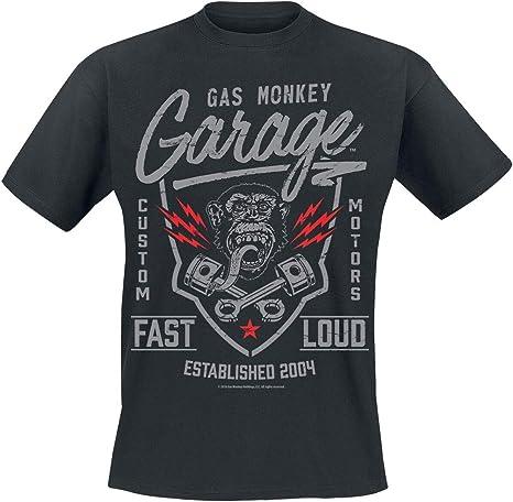 Imagen deGas Monkey Garage Shirt Fast N Loud Classic Logo Oficial de Los Hombres Nuevo