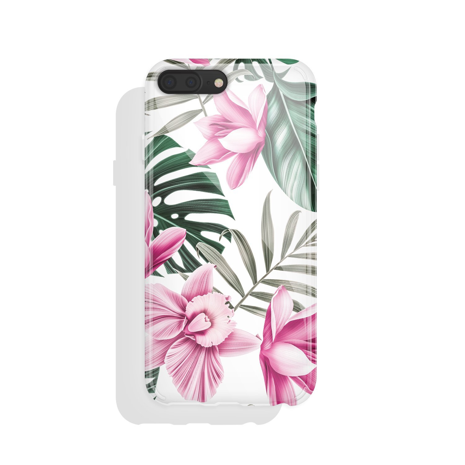 iPhone 8 plus & iPhone 7 plus Case Vintage floral, Akna Charming Series High Impact Silicon Cover with HD Graphics for iPhone 8 plus & iPhone 7 plus (101293-U.S)