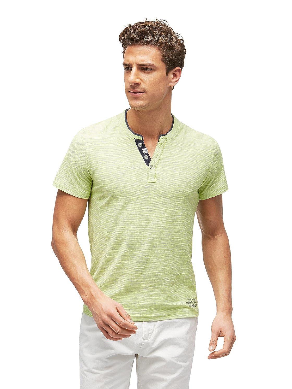 Tom Tailor 1002 - Camiseta para Hombre, diseño de Rayas, Color ...