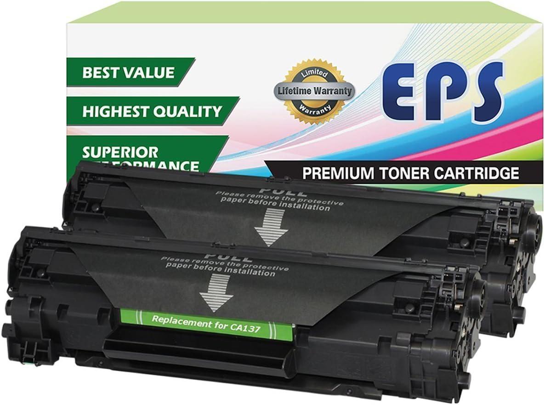 Eurotone Refill Powder Chip for Canon I-Sensys MF 211 212 216 217 226 227 229 231 232 236 237 244 247 249 dw w dn n Fills 737 9435B002