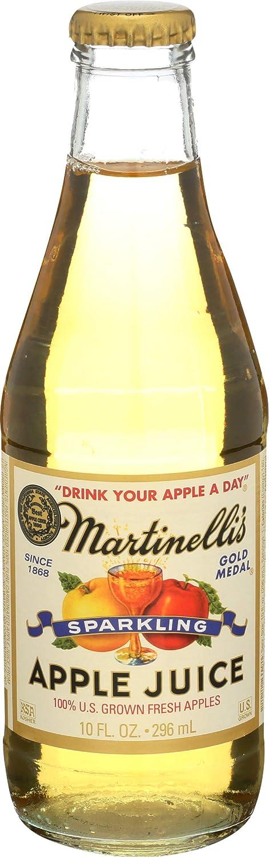 Martinelli Gold Medal's, 100% Sparkling Apple Juice, 10 oz