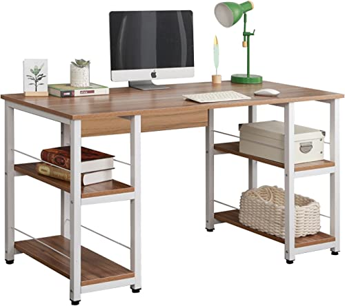 Soges Home Office Desk 55 inches Computer Desk,Morden Style