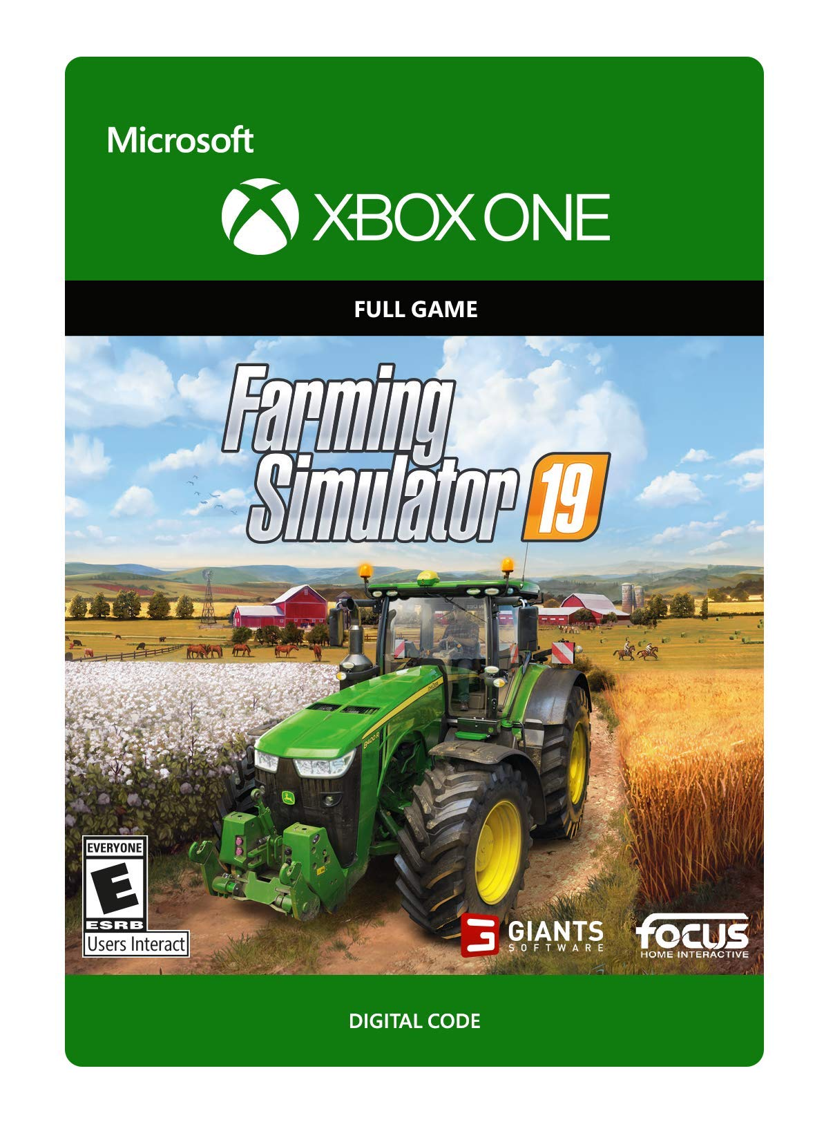 Farming Simulator 19 - Xbox One [Digital Code] by Focus Home Interactive (Image #1)