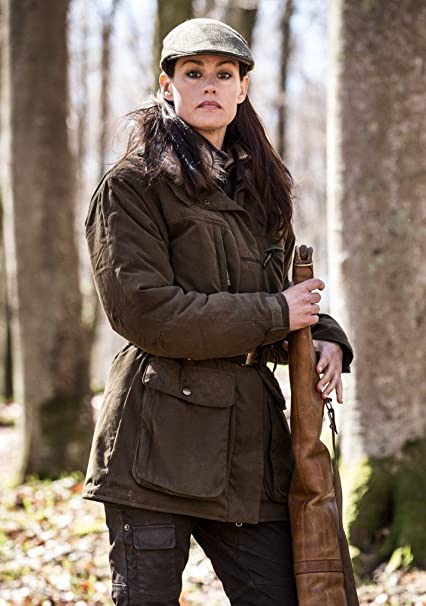 CHEVALIER Warwick Mujer Abrigo ELEGANTE ROPA DE CAZA DE LAS MUJERES - L: Amazon.es: Deportes y aire libre