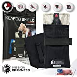 """Mission Darkness Faraday Bag for Keyfobs // Device Shielding for Smart """"Always On"""" Keyfobs for Automobile Owners, Law…"""