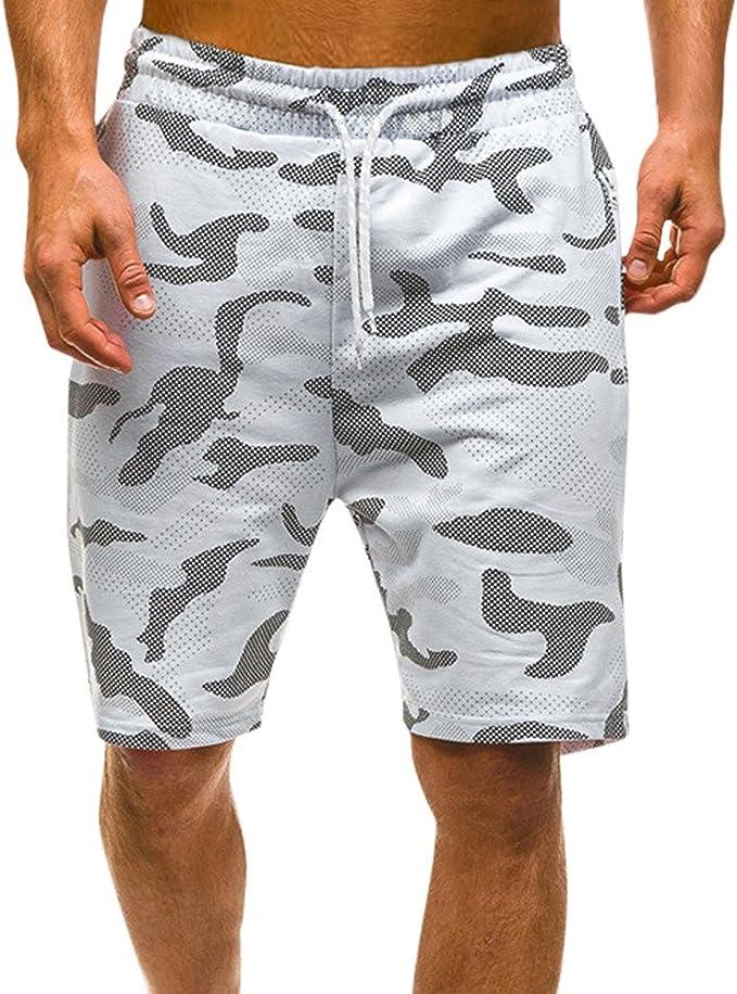 STRIR Shorts Cortos para Hombres, Pantalones Cortos Deportivos de ...