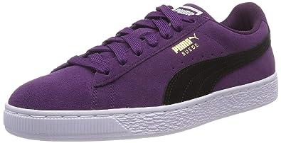 info pour b037e 455e2 Amazon.com | Puma Suede Classic Low-Top Sneakers, Shadow ...