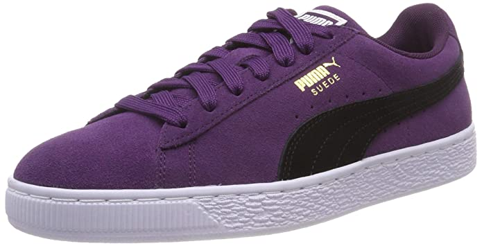 Puma Suede Classic Sneaker Damen Herren Unisex Wildleder Violett (Shadow Purple)