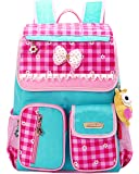 SellerFun® Kid Child Girl Princess Style Waterproof School Bag Backpack(B)