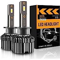 $22 » LRTER H1 LED Headlight Bulbs 60 W 12000 Lumens Extremely Bright 6000K Upgraded…