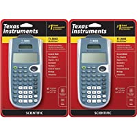 Texas Instruments TI-30XS Multiview Scientific Calculator (2 Pack)