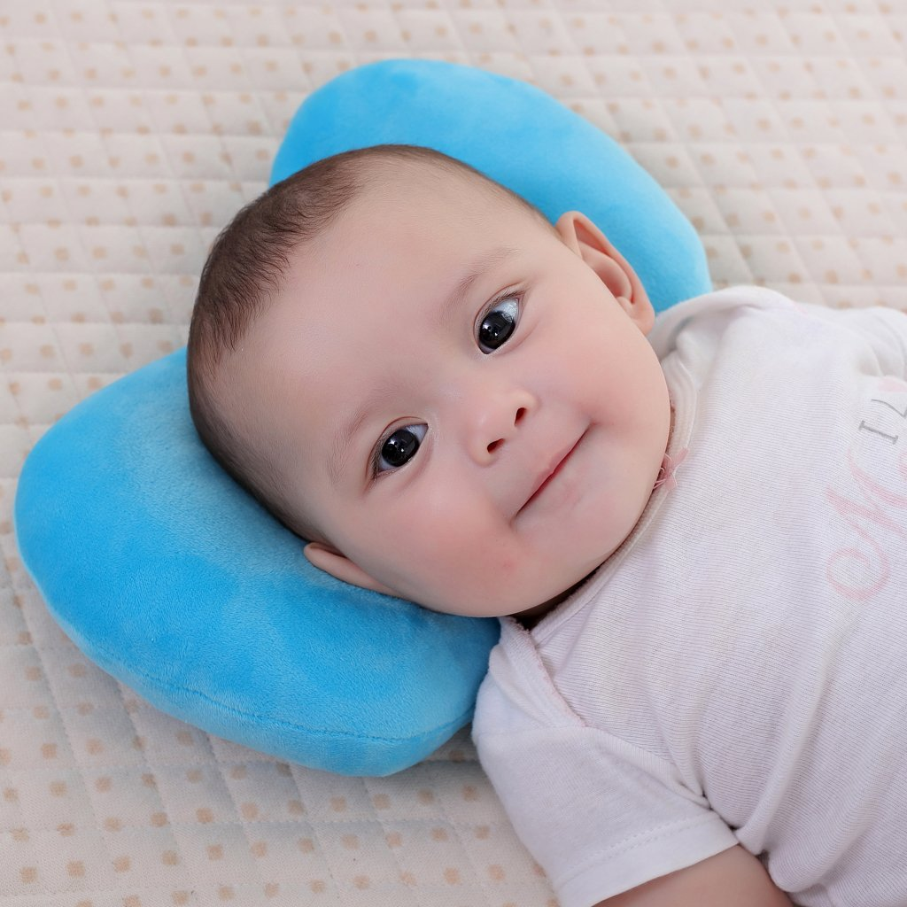 Baby Feeding Pillow KAKIBLIN Baby Breastfeeding Pillow Adjustable Baby Nursing Pillow for 0-12 Months Newborn and Infant Grey