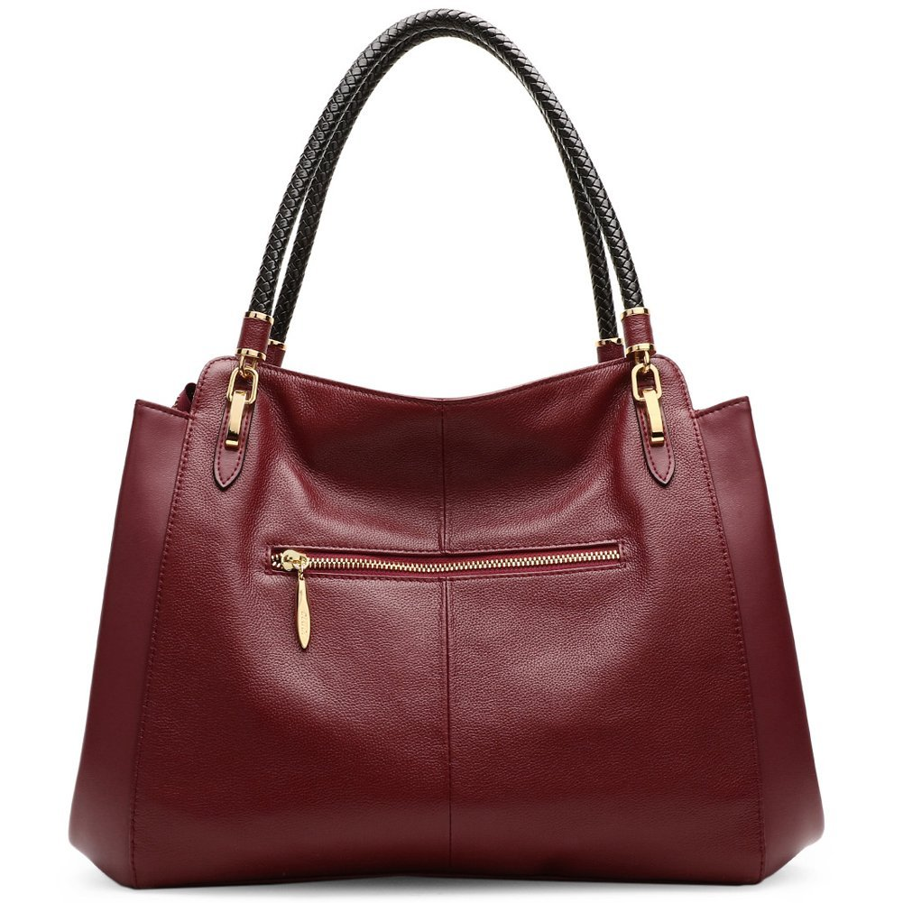 bff08b05737 Cluci Genuine Leather Purses and Handbags for Women Tote Shoulder Crossbody  Bag On Clearance