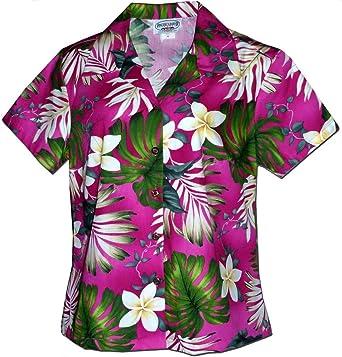 2585d07f Plumeria Paradise Hawaiian Shirts - Womens Hawaiian Shirts - Aloha Shirt -  Hawaiian Clothing - 100