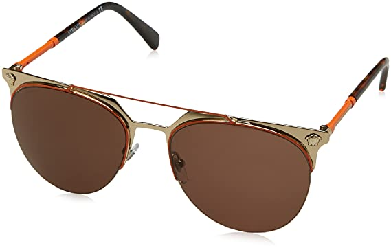 99c44898db Amazon.com  Versace Men s VE2181 Sunglasses 57mm  Clothing
