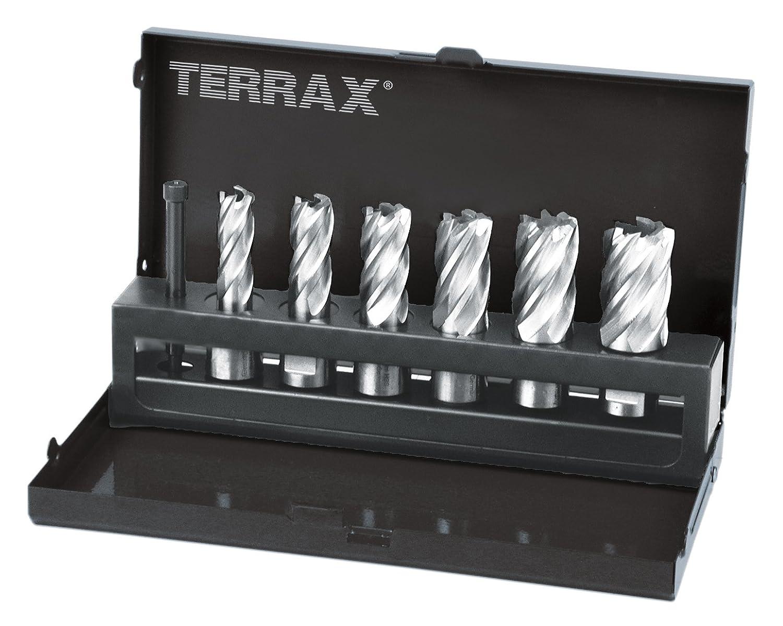 Ruko 108820 Terrax Core Drill Set Weldon 12-22 mm and 30 mm Cut Depth