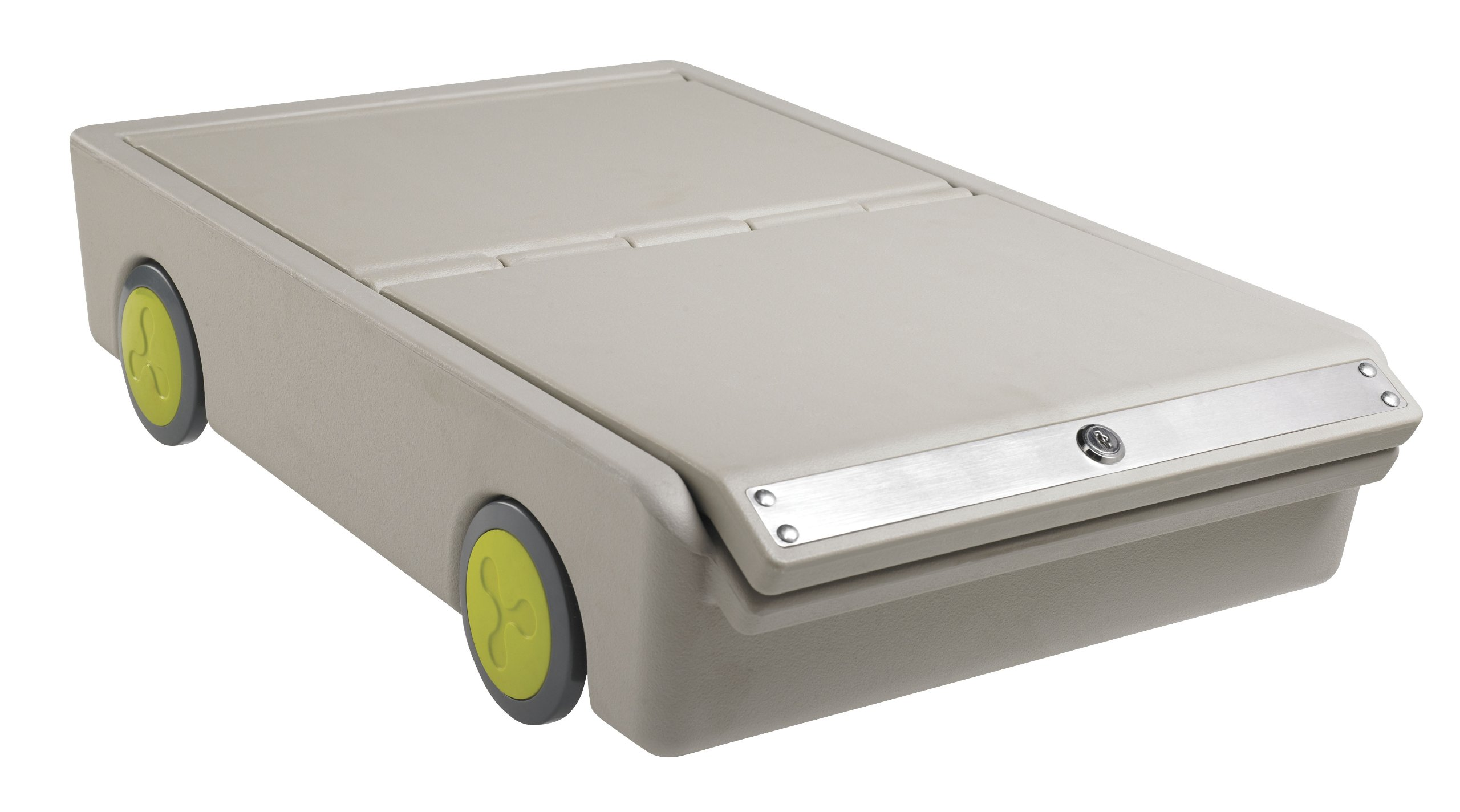 ECR4Kids Lock and Roll Portable Under-Bed Personal Safe by ECR4Kids