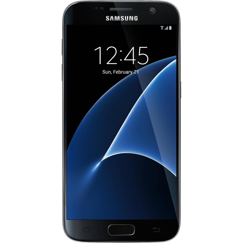 Samsung Galaxy S7 Unlocked GSM 4G LTE Smartphone - Black (Renewed)